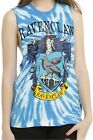 Harry Potter RAVENCLAW Tie Dye Muscle Tank Top ~Warner Brothers~ Free Ship