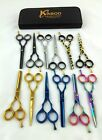 "Внешний вид - Professional Hair Cutting Japanese Scissors Barber Stylist Salon Shears 5.5"" pro"