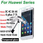 Buy 1 Free 1=2 Pcs ! 9H Tempered Glass Film Screen Protector for Huawei Phone