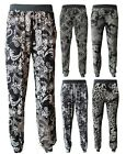 Ladies Floral Paisley Flower Print Harem Trouser Ali Baba Pants Leggings