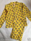 New Despicable Me Minions Childrens Yellow Pyjamas 2-Piece Set
