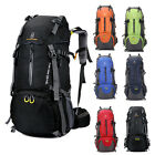 60L Outdoor Men Women Trekking Hiking Bag Backpack False step Travel Luggage Rucksack