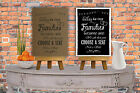 Today As Two families become one custom Print wedding Chalk Print Vintage aa04
