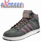 Adidas Neo Hoops Premium Mens Casual Retro Mid Top Trainers Green UK 10 Only
