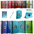 360° Rotating Folio Smart Leather Case Cover For Apple iPad Air 1/ iPad 5th