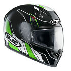 HJC FG-17 Zodd Black & Green Full Face Motorcycle Crash Helmet RRP £179.99!