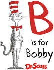 Personalized Dr. Seuss Cat in The Hat Style B T-Shirt