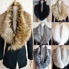 1pc Womens New Fashion Noble Warm Faux Fur Collar Scarf Shawl Wrap 7 Colours