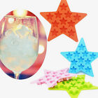 Star Shape 11 Silicone Mini Ice Cube Chocolate Cake Mold Mould Maker Tray Baking