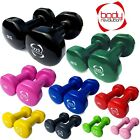 Vinyl Dumbbells Hand Weights Ladies Dumbbell Set Home Gym Fitness Training