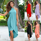 Womens Sexy Sleeveless Boho Style Beach Long Maxi Sun Dress Cocktail Party Prom