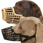 Basket Dog Muzzle, USA Seller, 7 Sizes! Flexible Plastic Cage Adjustable Nylon