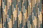 Woodland Camo - 550 Paracord Rope 7 strand Parachute Cord 10 25 50 100 ft