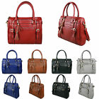 Ladies Faux Leather Zip Tassel Shoulder Handbag
