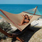 "Carribean Jumbo Hammock 55"" - Soft-Spun Polyester - 10+ Colors - Free Ship!"
