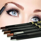 Maxdona Waterproof Retractable Lasting Eyebrow Eye Brow Chalk Pencils Black Case