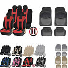 UAA Luxury Carpeted SUV Rubber Mats & Dual-Stitch Racing Polyester Seat Covers