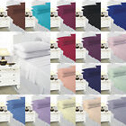 Plain Dyed Fitted Sheet, SINGLE DOUBLE KING