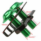 10 X M6 6mm Fastener Speed Bolts Kit Fairings Screw Mounting Nut Clip Motorcycle