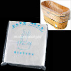 Prtable New 50 Pcs Disposable Tub Liners Bath Basin Bags for Spa Choose