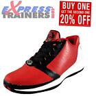Adidas Mens D Rose Englewood Basketball Trainers Red *AUTHENTIC*