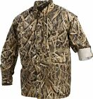 Drake Waterfowl DW261 Men's  L/S Vented Wingshooter's Camo Shirt 3 patterns