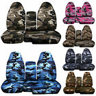 CC 2004-2012 FORD RANGER  CAMO CAR SEAT COVERS 60-40 seat+CONSOLE COVER,CHOOSE
