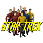 Star Trek Galaxy Series 3.75 inch Action Figures Kirk/Spock/Nero
