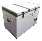 Evakool 89L Glacier DUAL ZONE 12v 24v 240v Portable Camping Fridge AND Freezer