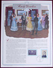 First Lady Emily Donelson Rachel Robards Pres Andrew Jackson 10x13 commemo panel