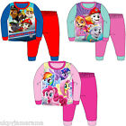 Infant Babies Boys Girls Paw Patrol Long Pyjamas My Little Pony Snuggle Pyjamas