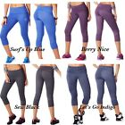 Authentic Zumba Wear So Bootyfull Capri  Multiple Colors ~ XSmall or Small ~ NEW