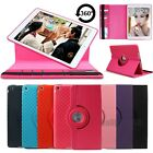 For iPad 2 3 4/Air 2/mini 360° Rotating Flip Leather Case Shockproof Stand Cover