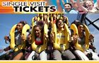 (4) Four Tickets to ANY Six Flags Fast Shipping Lowest Price!!!