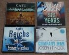 3 x CRIME CD AUDIO BOOK ROBERT CRAIS LULLABY TOWN/HARLAN COBEN SIX YEARS/KERNICK