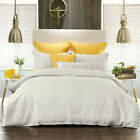 Flavia Snow Quilt Doona Duvet Cover Set OR Accessories by Bianca Elegence