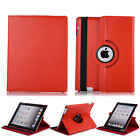 360 Rotating Leather Folio Smart Case Stand Cover For Apple iPad Mini 2 3 4 Air