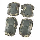 Adjustable Airsoft Tactical Elbow & Knee Protective Pads Combat Knee Pad Skate