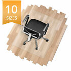 Large Sizes * Clear Translucent Polycarbonate Chair Mat Office Floor Protection