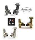 Traditional Manual Radiator Valves - Abbey Style - Cast Iron Radiators