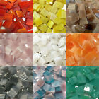 1/2' Mosaic Tiles Stained Glass Mosaic Tiles - Available in Variety Colors