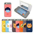 KAKAO FRIENDS Card & Mirror Double Bumper Case Cover For Apple iPhone 6/6s Plus