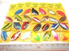 ROCK ISLAND SPORTS WILLOW LEAF SPINNER BLADES # 4.5 10 CT  NEW COLORS!!!!