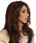 Women's Long Curly Wavy Wig Synthetic Cosplay Party Anime Full Wigs