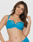 New Curvy Kate Florence Balconnet Bra in Pacific Blue