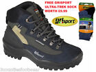 MENS WALKING BOOTS WATERPROOF HIKING BOOTS GRISPORT WOLF - LIGHTWEIGHT