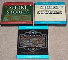 3 SHORT STORIES CD AUDIO BOOKS CSA ULTIMATE/NOSTALGIA/TIMELESS COLLECTION 22 hrs