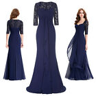 2016 Navy Blue Elegant Long Formal Evening Party Bridesmaid Dresses Prom Dress