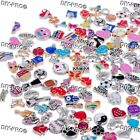 Floating Charms for Glass Living Memory lockets Necklace Bracelet Mix 0 Lot Set