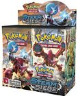 2 POKEMON XY STEAM SIEGE BOOSTER PACKS! 2 Packs - New !